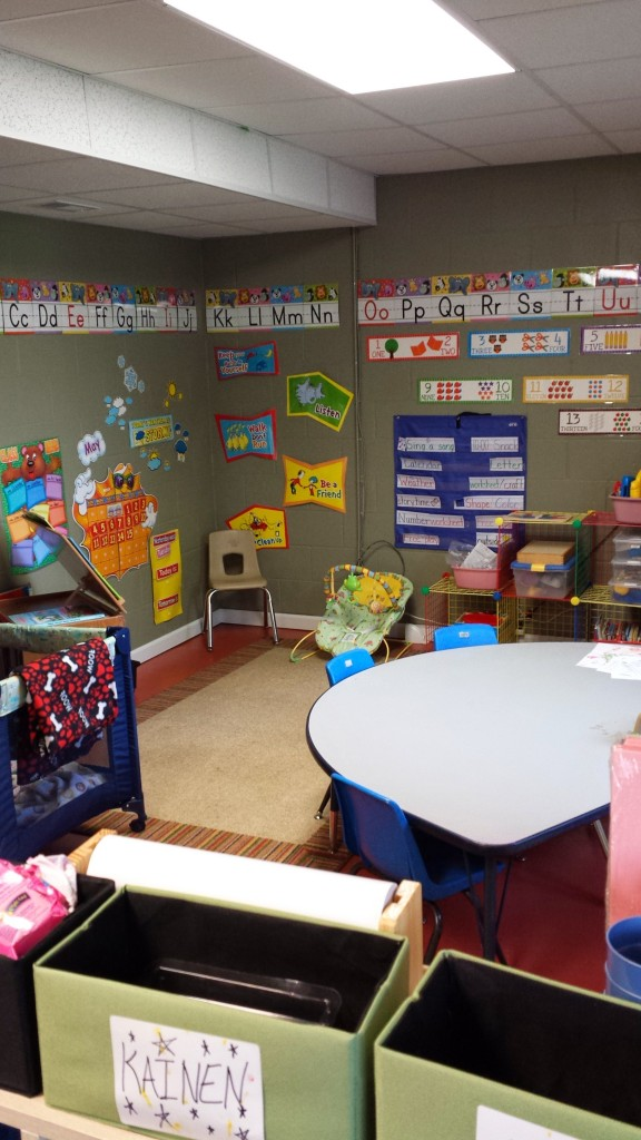 Our Preschool Area